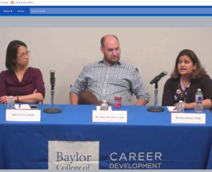 Career Seminar: Navigating Your First Year as a Faculty (Nov. 15, 2018)