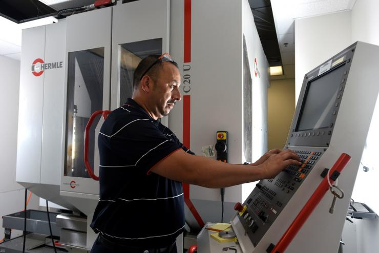 Hermle 5-axis CNC mill