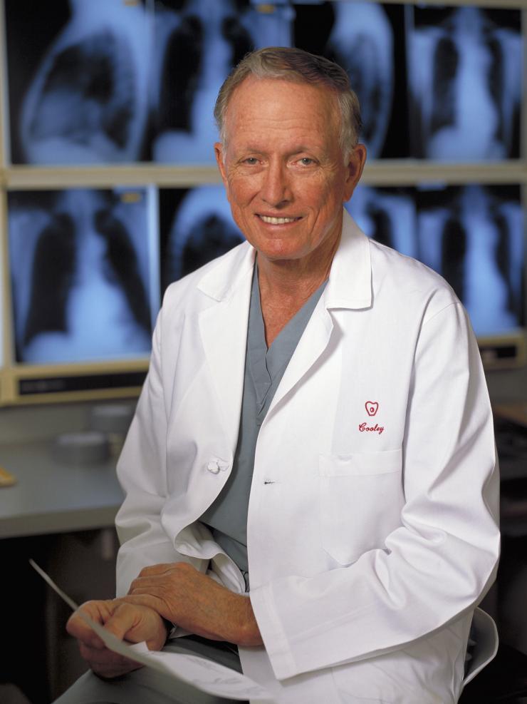 Denton Cooley, M.D.
