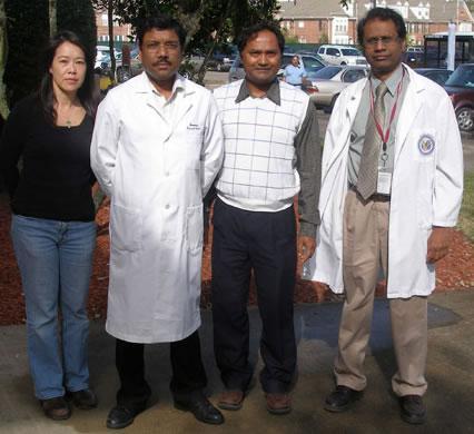 Perumal Thiagarajan Laboratory members.