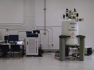 Avance III HD 600 MHz spectrometer