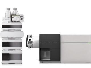 Agilent 6490 Triple Quadrupole Mass Spectrometer coupled to an HPLC system (LC-QQQ MS).