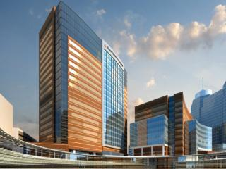 Artist rendition of Legacy Tower - Texas Children's Hospital