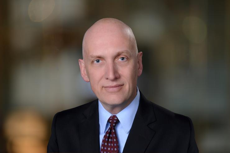 James McDeavitt, M.D., chair, Department of Physical Medicine and Rehabilitation