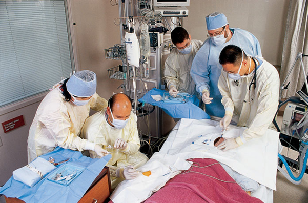 The ICU team at MD Anderson