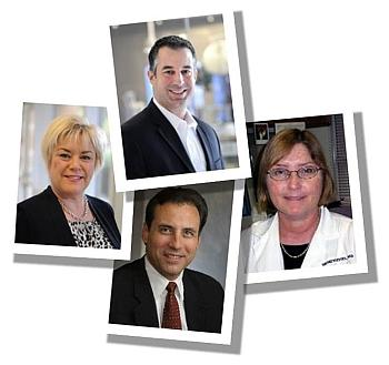MVM participants in the HMP are, clockwise from top: Drs. Joseph Petrosino, Wendy Keitel, James Versalovic, and Sarah Highlander.