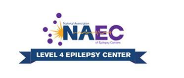 NAEC Level 4 Epilepsy Center badge