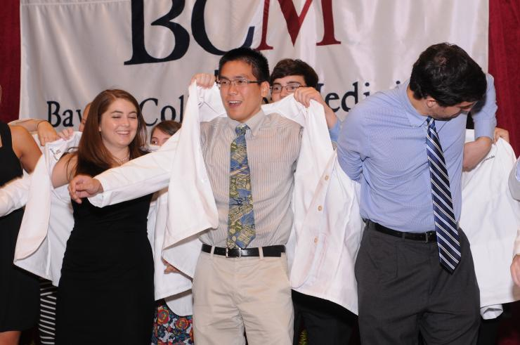 Baylor College of Medicine's White Coat Ceremony for first year medical students was held Aug. 9, 2013.