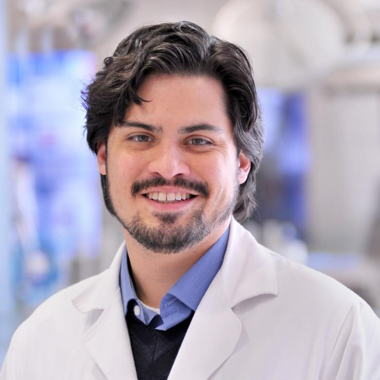 Dr. Ricardo Nuila, assistant professor of medicine and in the Center for Medical Ethics and Health Policy