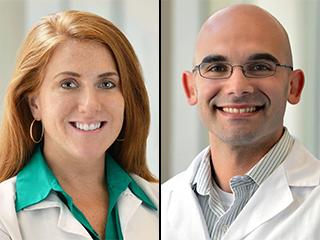 Dr. Jill Ann Jarrell and Dr. Jared Rubenstein, Pediatric Hospice and Palliative Medicine Fellowship co-directors.