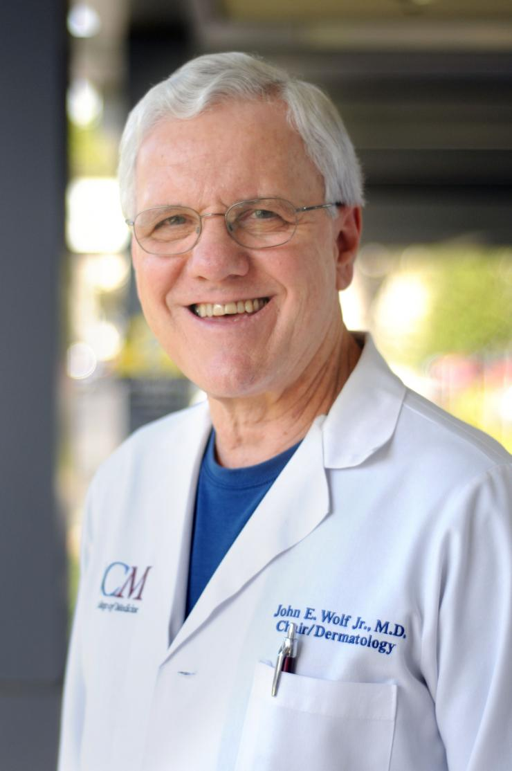 John E. Wolf, Jr., M.D., M.A., Professor and Chair, Department of Dermatology, Baylor College of Medicine
