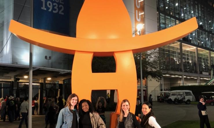Pediatric and Adolescent Gynecology Fellows at the Houston Rodeo.