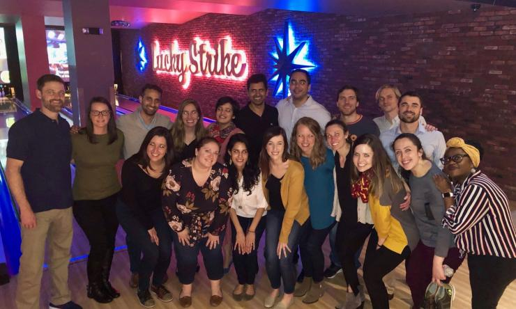 Pediatric Critical Care Medicine Fellowship group outing