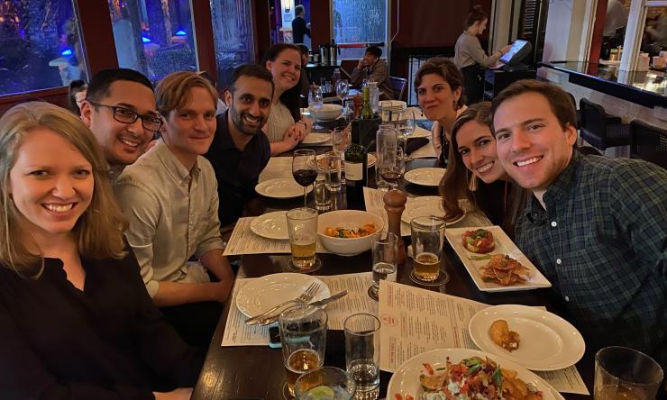 Pediatric Critical Care Medicine Fellowship Group Dinner