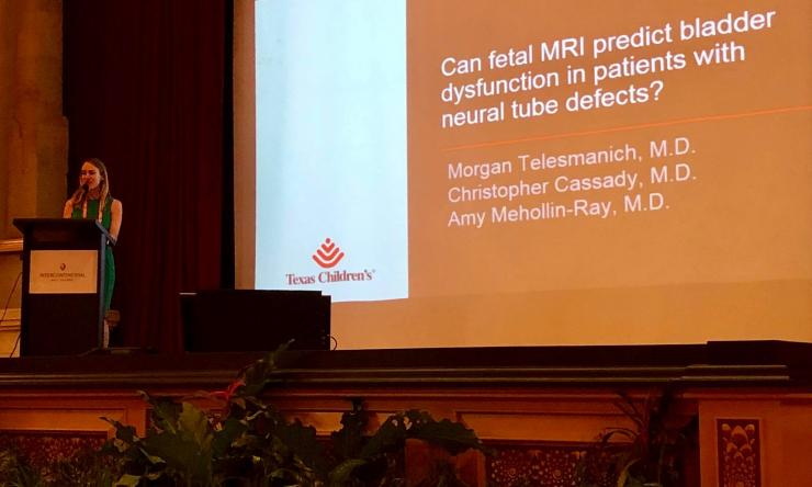 Dr. Morgan Telesmanich received a travel award