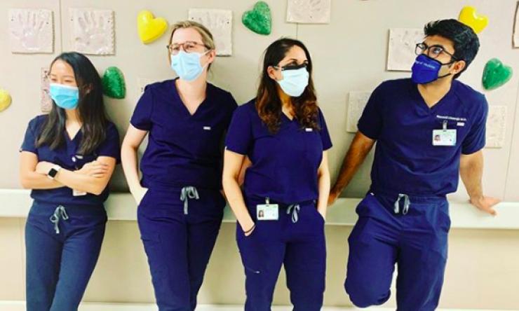 Internal Medicine residents 2020