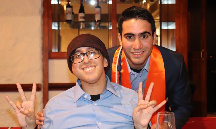 Victor and Hugo Alvarez