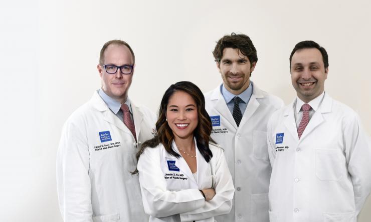 Adult plastic surgery team