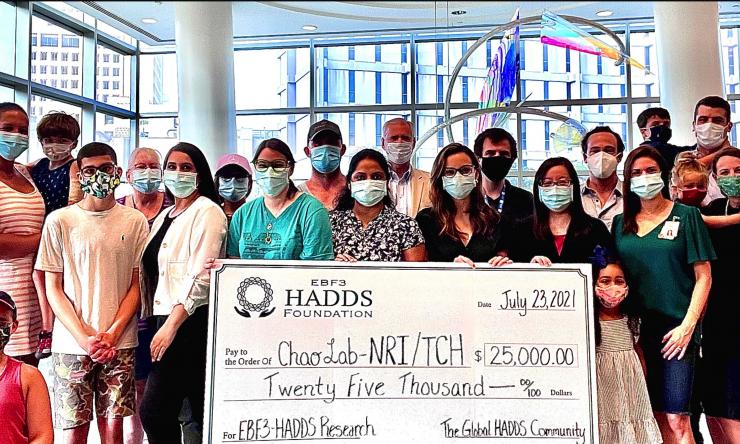 HADDS Foundation Donation