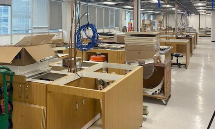 Mills Lab Construction