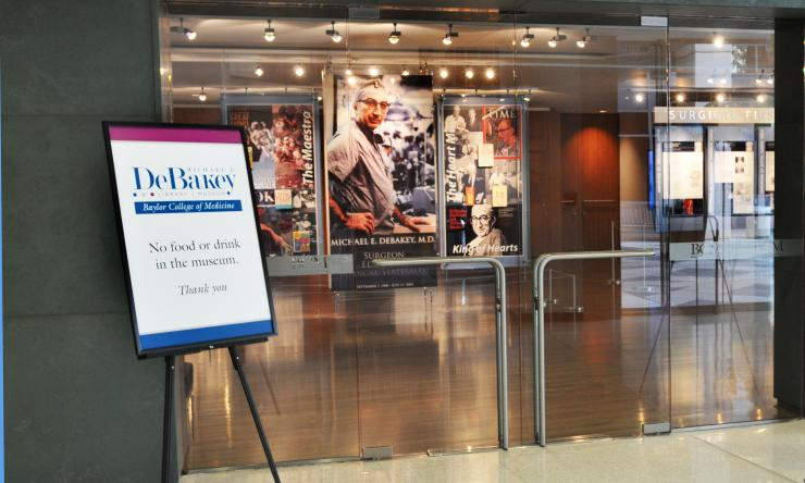 The Michael E. DeBakey Library and Museum at Baylor College of Medicine.