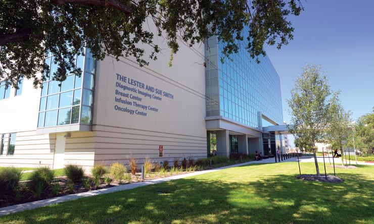 The Harris Health System's Smith Clinic.