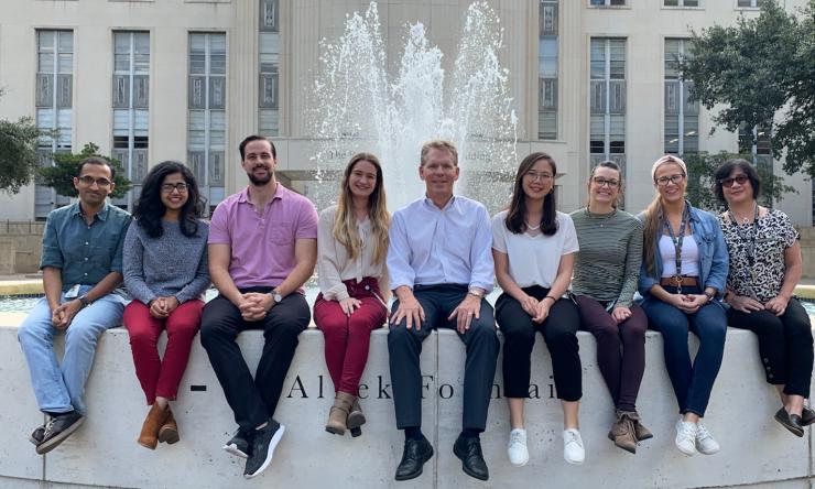 Tom Cooper Lab group photo 2019