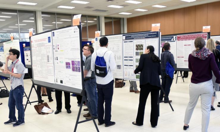 panoramic shot of symposium