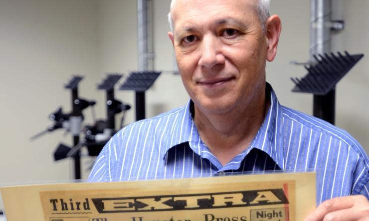 Orthotics and prosthetics faculty member, Earl Fogler.