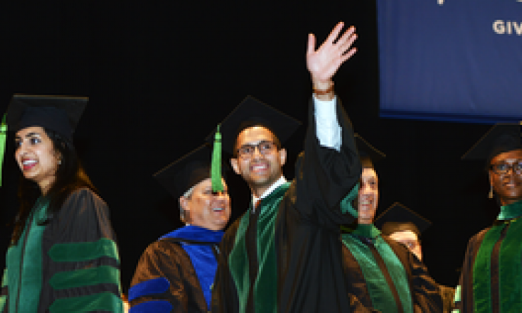 Baylor College of Medicine graduation