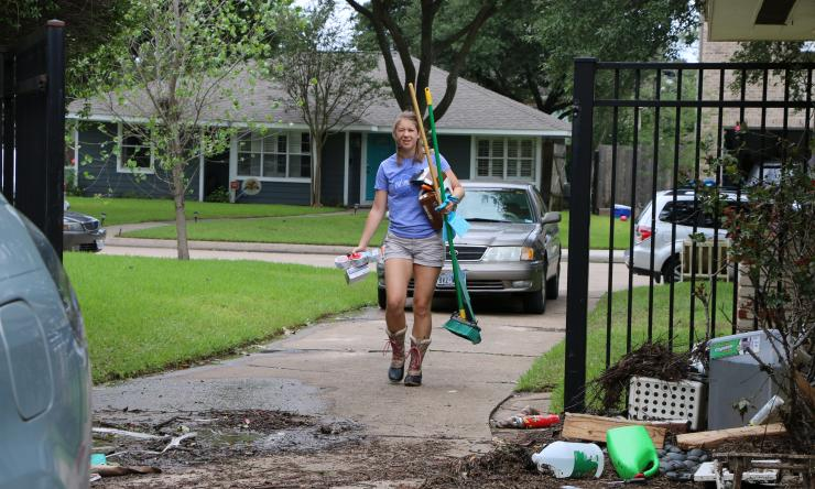 One of the most common post-Hurricane Harvey health issues that people are facing are worsening allergies, and there are numerous reasons for this, according to Dr. David Corry,