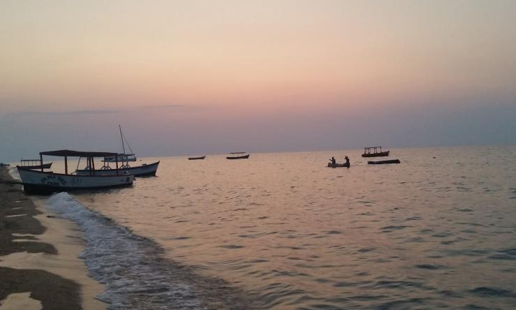 Scene from Lake Malawi