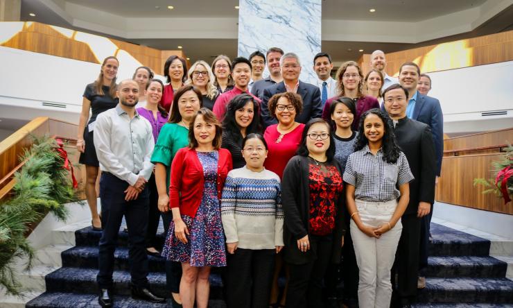 Members of Brendan Lee Lab (2018)