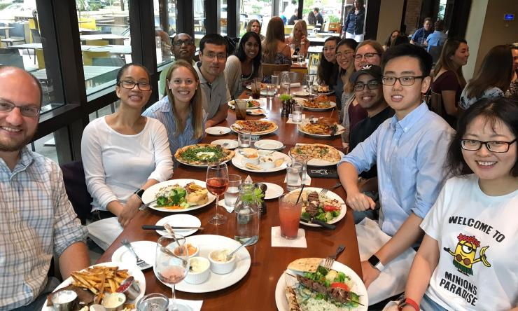 McGinley Lab Lunch