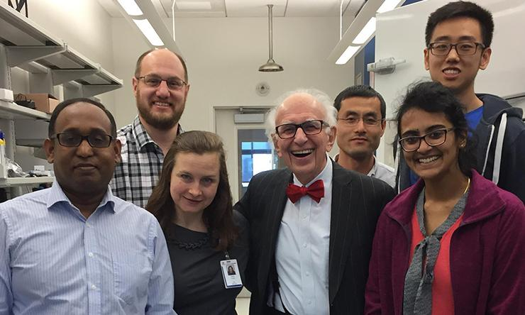 A group photo of the McGinley Lab Members