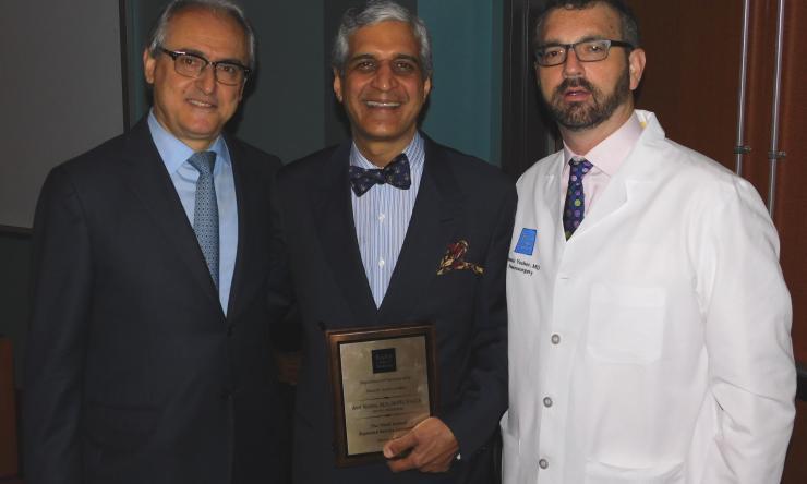 Dr. Raymond Sawaya, Dr. Anil Nanda, Dr. Daniel Yoshor
