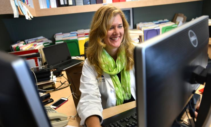 Dr. Kjersti Aagaard, associate professor of obstetrics and gynecology in the section of maternal fetal medicine at Baylor and the Texas Children's Pavilion for Women.