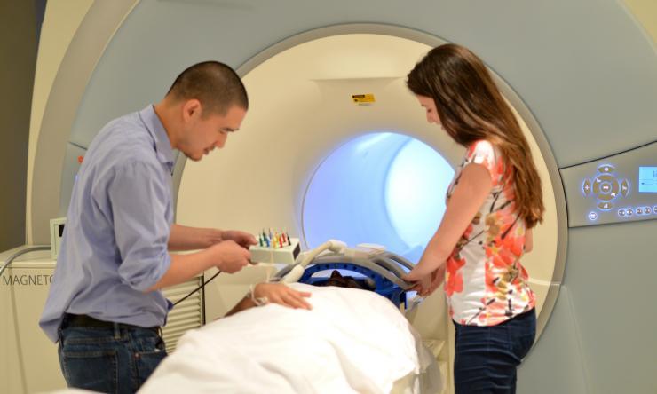 MRI Patient Setup