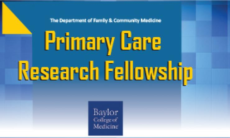 Primary Care Research Fellowship