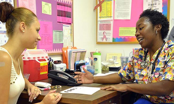 Teen Health Clinic Consultation